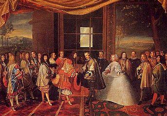 La monarquía absoluta (4). La monarquía hispánica. Política exterior de Felipe IV
